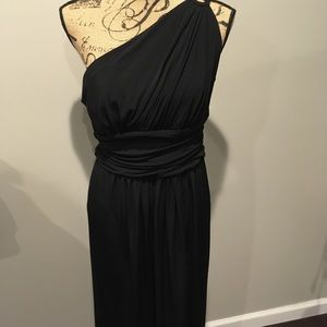 Maggy London midi little black dress